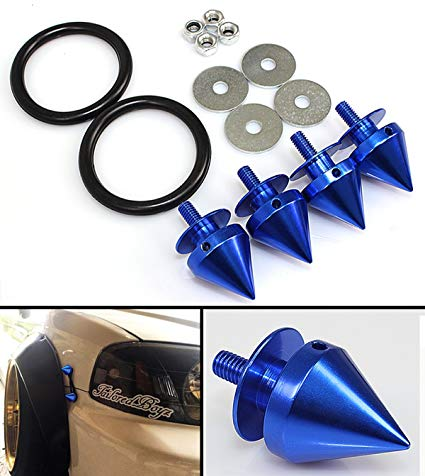 New Best Quality JDM Bumper Quick Release Spike Blue