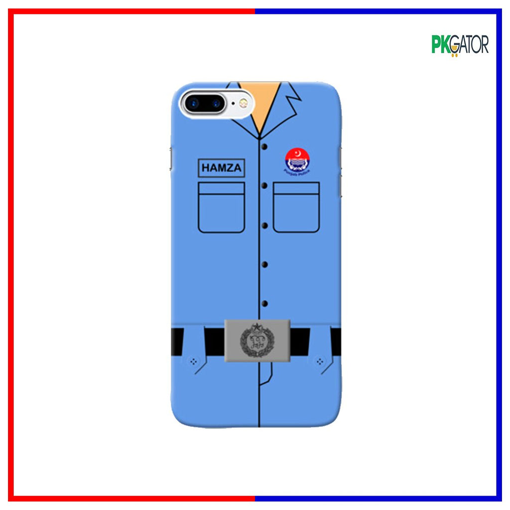New Exclusive 3D Customize Police Case Series For iPhone - Pkgator