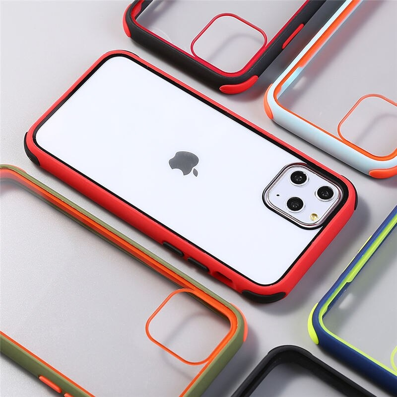 TPU bumper case for iPhone