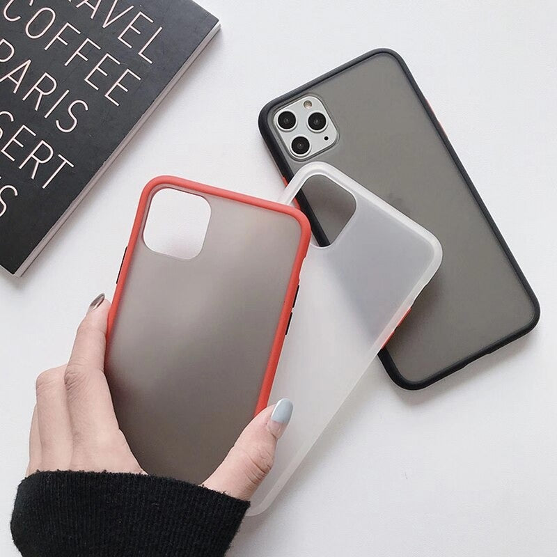 New Exclusive Fancy Matte Frosted Phone Case for iPhone