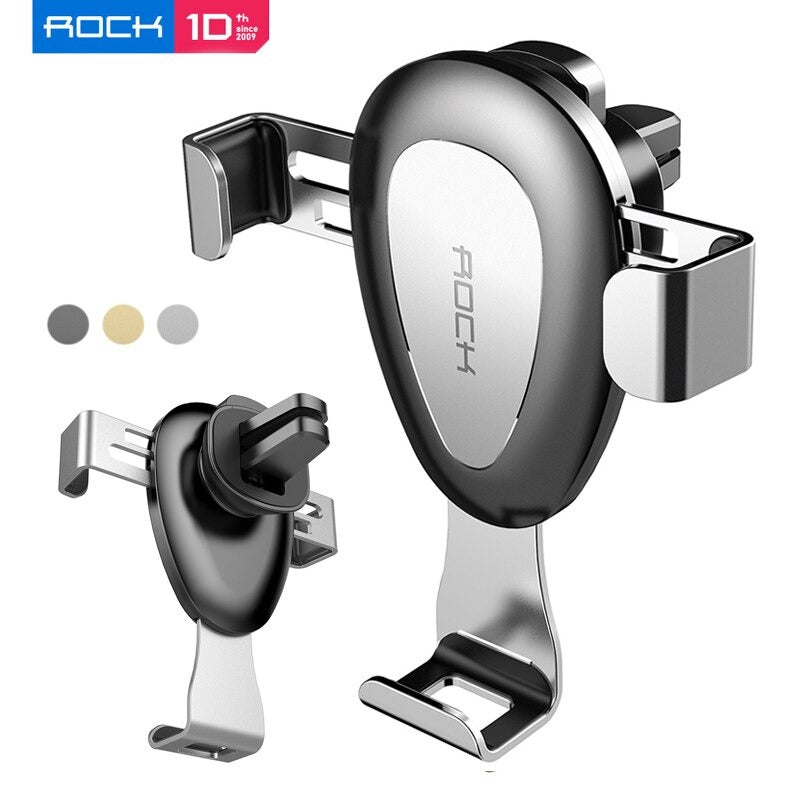 New Rock Universal Gravity Air Vent Car Mount Holder For All Smartphones