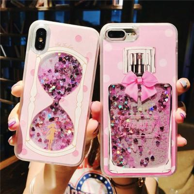New Bling Moving Glitter Outside Picture Phone Case For Huawei - Pkgator