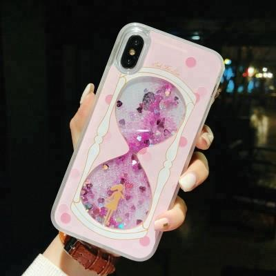 Moving Glitter Outside Picture Phone Case For iPhone - Pkgator