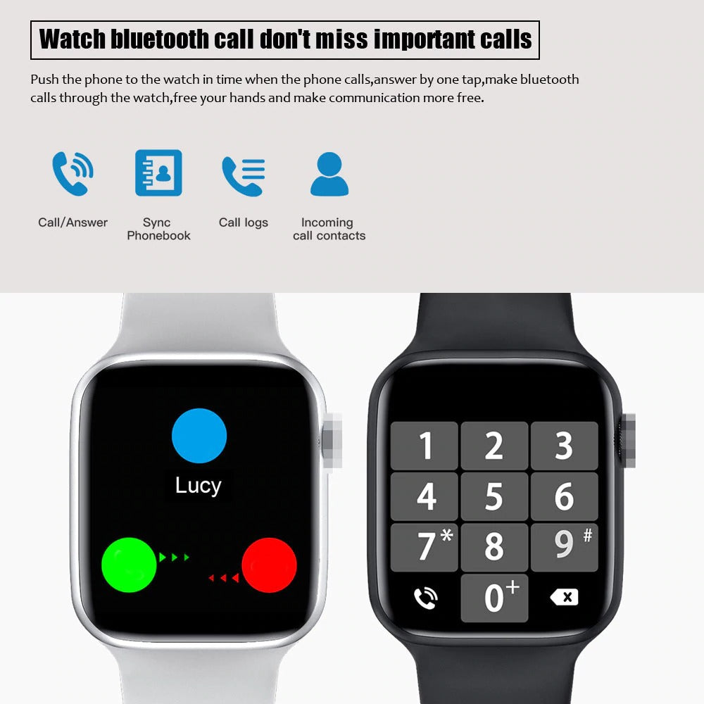 W26 Smart Watch Display Support Bluetooth Call Smart Phone Watch