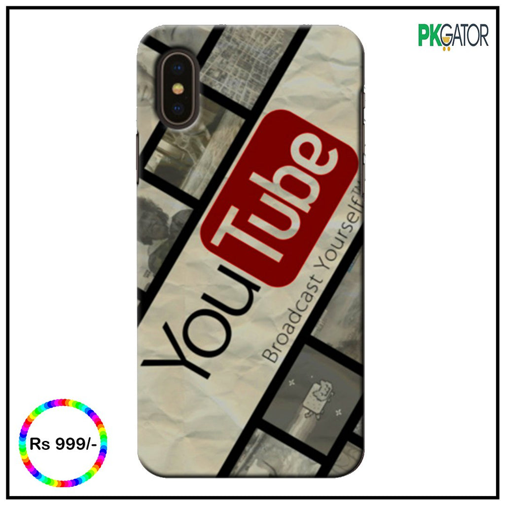 New Exclusive 3D Customize Youtube Case Series For Huawei - Pkgator