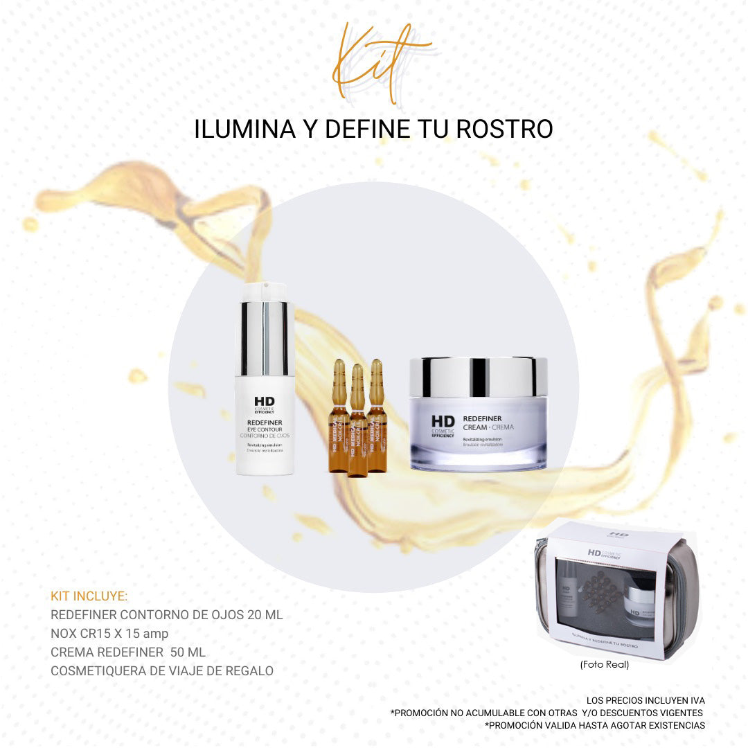 HD Cosmetic Efficiency Pack Ilumina y Define tu Rostro