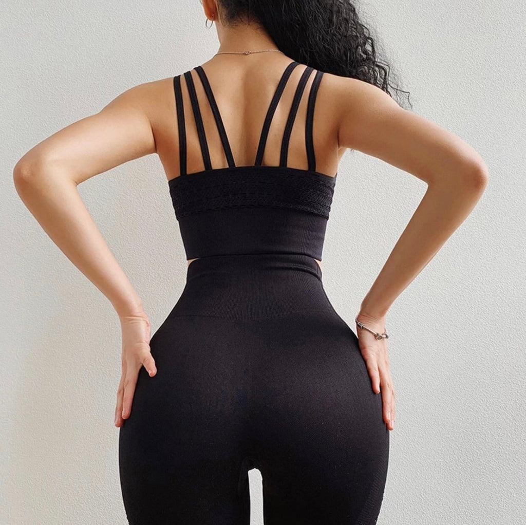 Hollow Out Yoga Pants