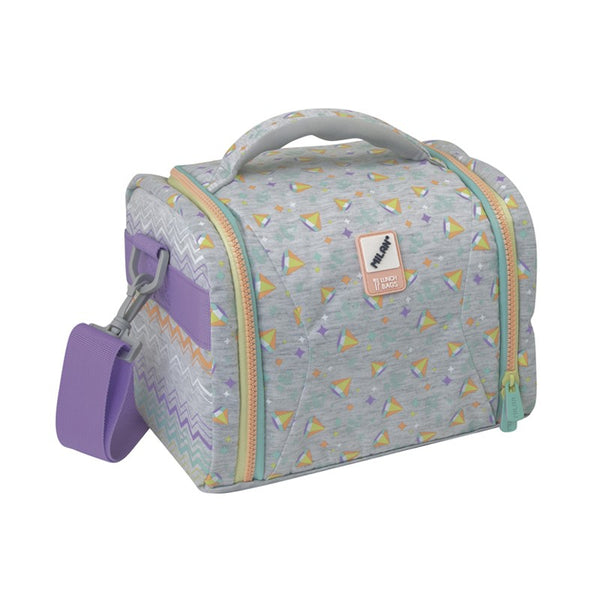 LUNCH BAG SUGAR DIAMOND GREY