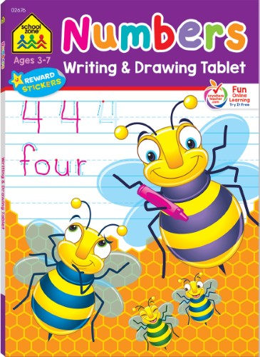 WRITTING & DRAWING TABLETS NUMBERS