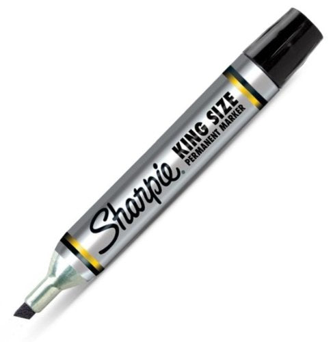KING SIZE MARKER BLACK