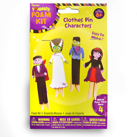 CLOTHESPIN CHARACTER FOAM