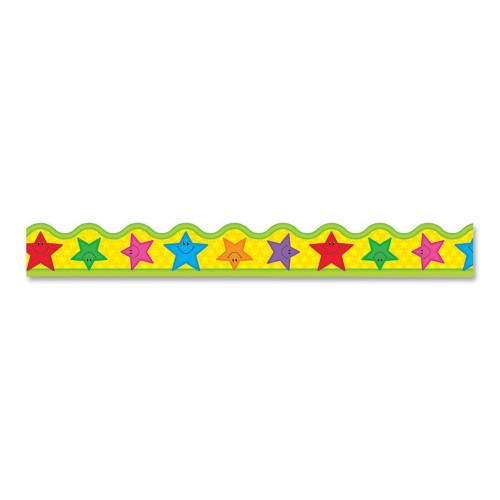 STARS BORDER SCALLOPED