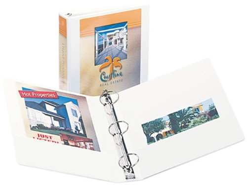 "VIEW BINDER 2"" WHITE"
