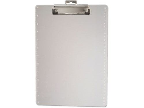 PLASTIC CLIPBOARD TRANSPARENT CLEAR LETTER