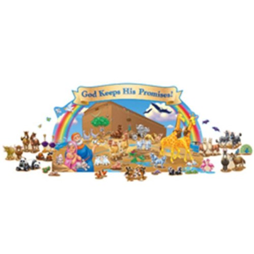 BULLETIN BOARD SET NOAH'S ARK