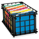 FILE CRATE BLACK (CAJA DE LECHE)