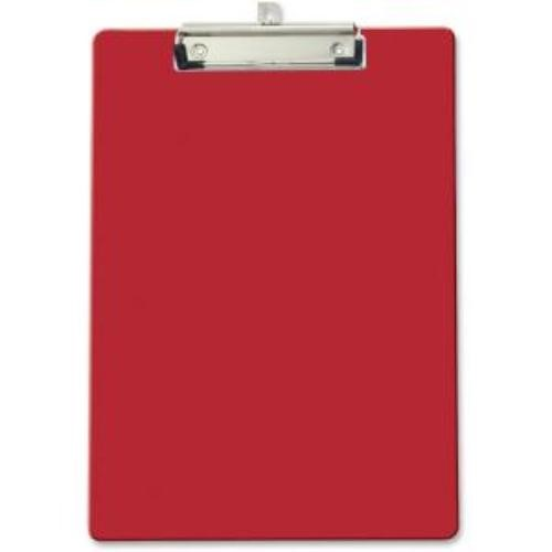 PLASTIC CLIPBOARD RED LETTER