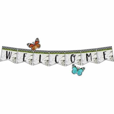 WOODLAND WHIMSY WELCOME BULLETIN SET