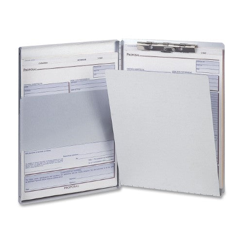 CLIPBOARD ALUMINUM FORM HOLDERL SIDE-LOAD LETTER