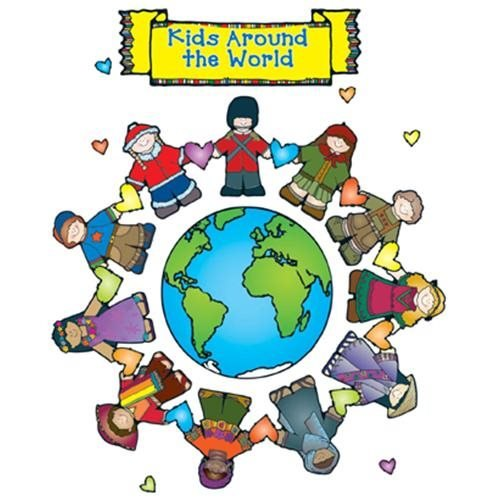 BULLETIN BOARD SET KID AROUND THE WORLD