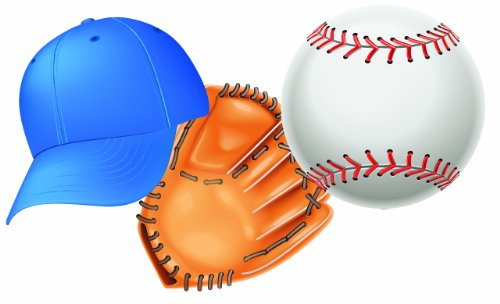CUT-OUT BASEBALL 36 PC