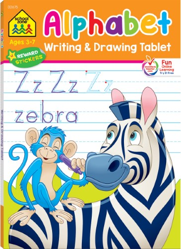WRITTING & DRAWING TABLETS ALPHABET