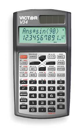 SCIENTIFIC CALCULATOR 2 LINE 10 DIGIT