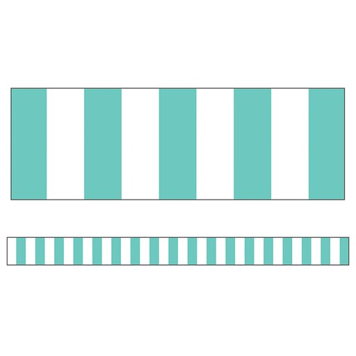 BORDER STRAIGHT SIMPLY STYLISH TURQUOISE