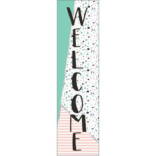 SIMPLY SASSY WELCOME VERTICAL BANNER