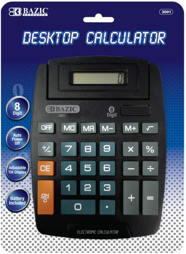 8 DIGIT LARGE DESKTOP CALCULATOR