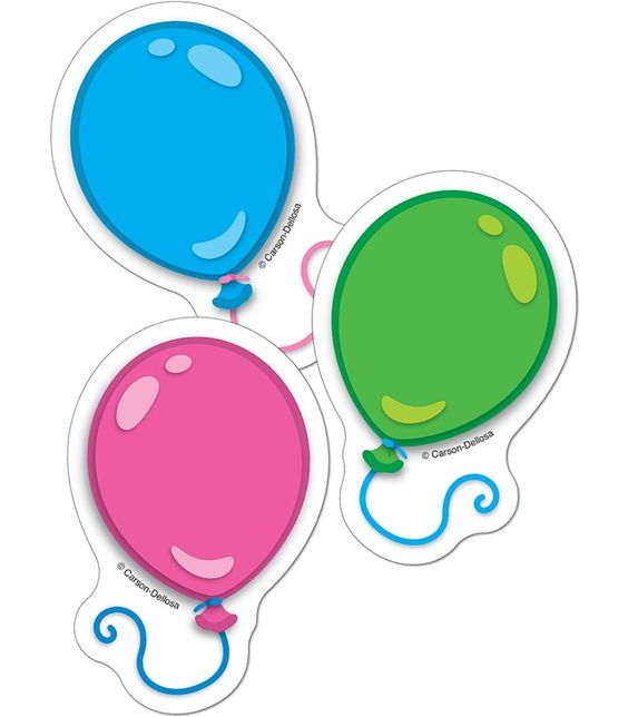 BALLOONS CUT OUTS MINI
