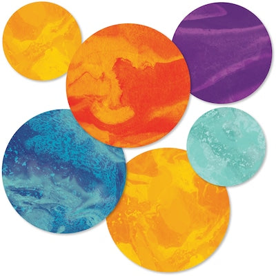 PLANETS CUT-OUTS 36 PC