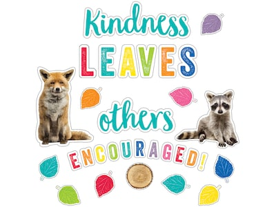 KINDNESS LEAVES OTHERS ENCOURAGED BULLETIN SET