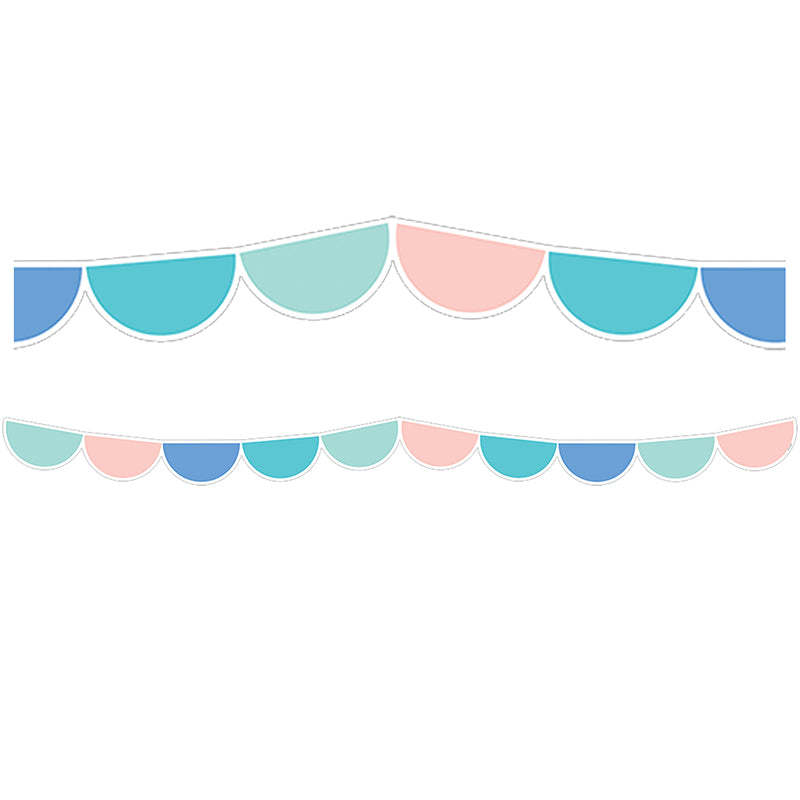 CALM & COOL HALF-DOTS BORDER