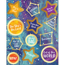 GALAXY MOTIVATIONAL STICKERS 72 STICK