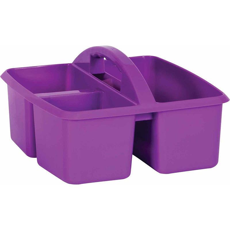 PLASTIC STORAGE CADDIES PURPLE