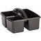 PLASTIC STORAGE CADDIES BLACK