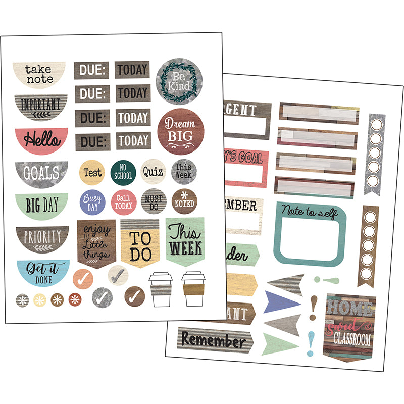 HOME SWEET CLASSROOM PLANNER STICKERS 180 STICKERS