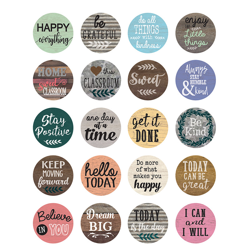 HOME SWEET CLASSROOM WORDS TO INSPIRE STICKERS