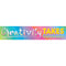 COLORFUL VIBES CREATIVITY TAKE BANNER 8'' X 39''