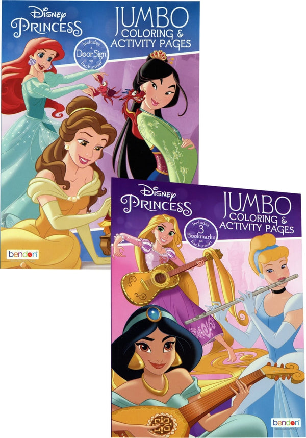 DISNEY PRINCESS COLORING BOOK 80 PG