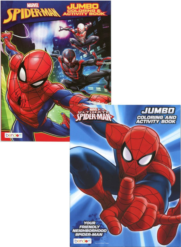 SPIDERMAN COLORING BOOK 80 PG