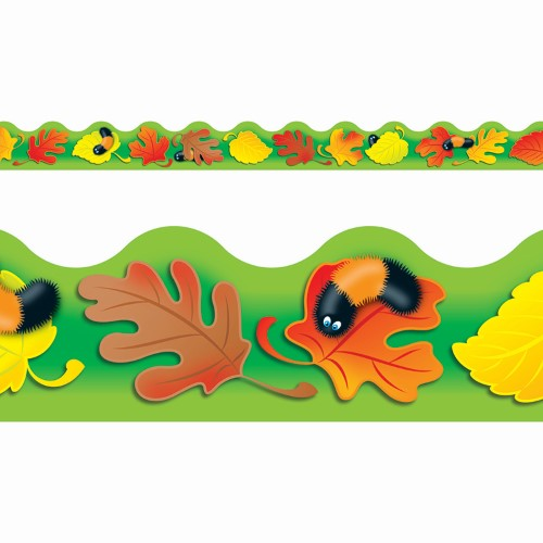 FALL FUN BORDER SCALLOPED 12 PC