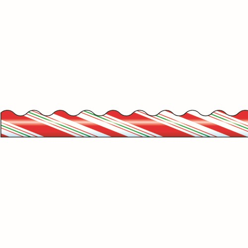 CANDY CANE STRIPES BORDER