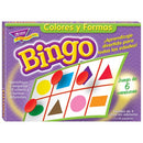 GAME COLORES Y FORMAS SPANISH BINGO