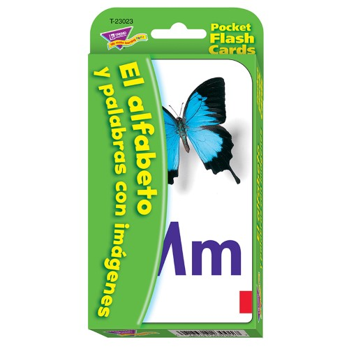 FLASH CARD ALFABETO Y PALABRA