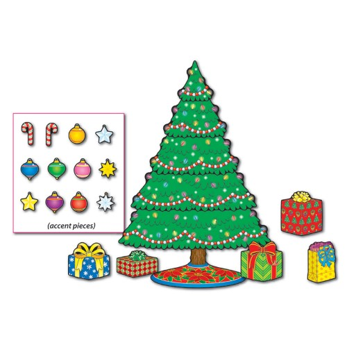 CHRISTMAS TREE MINI BULLETIN BOARD