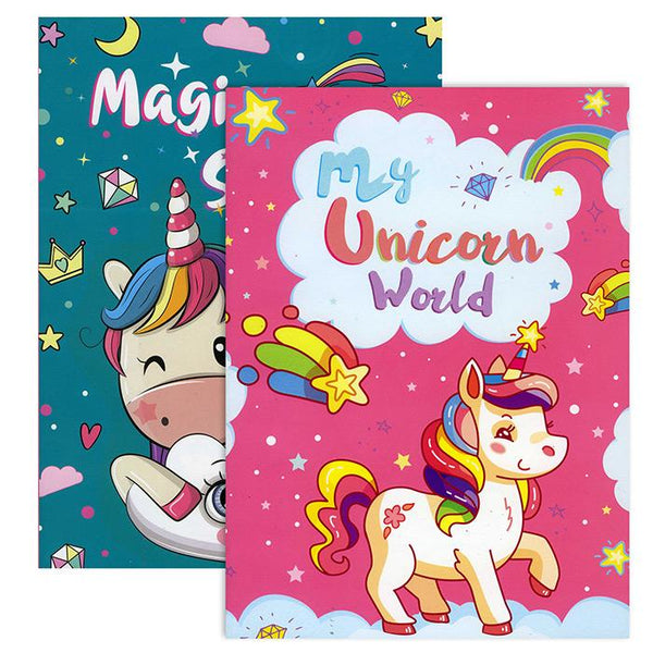 MY UNICORN WORLD COLORING BOOK