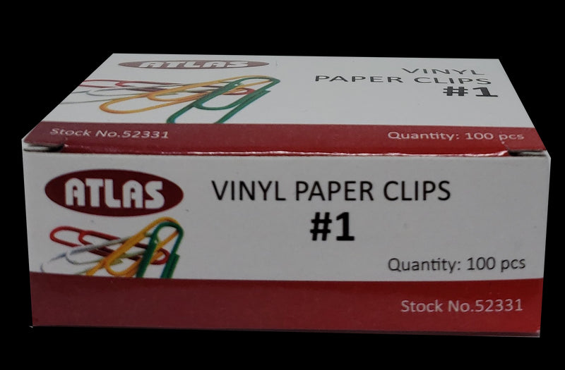 STANDAR COLOR PAPER CLIPS 100 PC