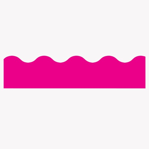 BORDER HOT PINK SOLID